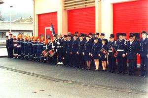 1996 : le Corps des Sapeurs-Pompiers fête son centenaire.