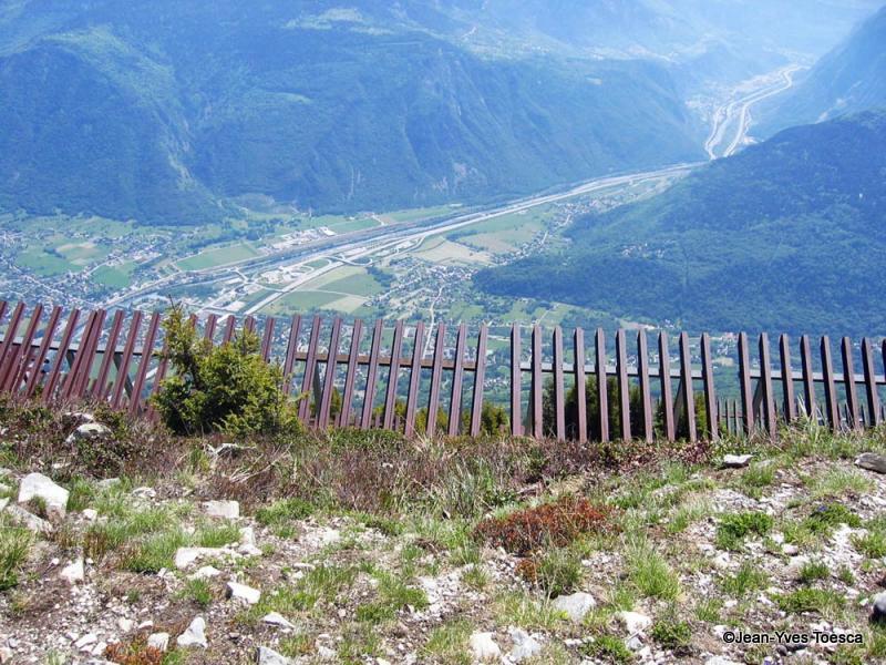 1__montagne__J.Y Toesca__0506__ les paravalanches du Mt-Cuchet