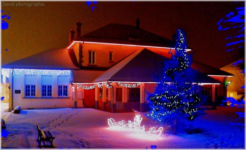 1__village__David__1112__Premiere neige décembre 2012