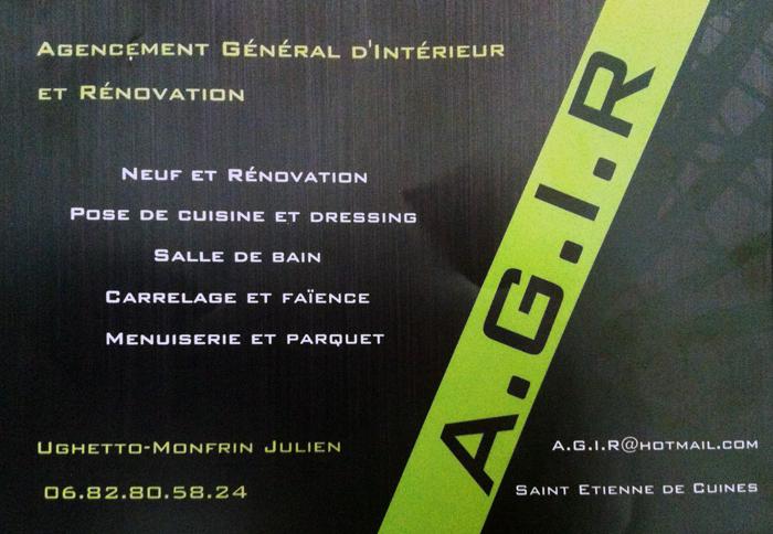 Carte De Visite AGIR Entreprise