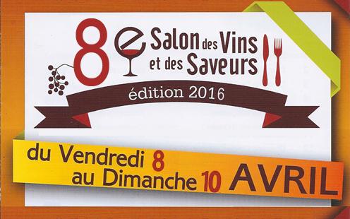 8 me salon des vins et des saveurs commune de saint for Porte de champerret salon des saveurs