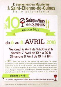 10ème Salon des Vins et des Saveurs