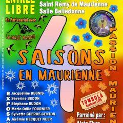 Expo Photo, Les 4 saisons en Maurienne