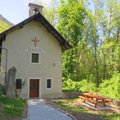 Messe à la chapelle du Mollaret