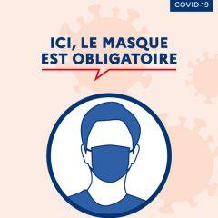 Port du masque obligatoire dans toute la Savoie