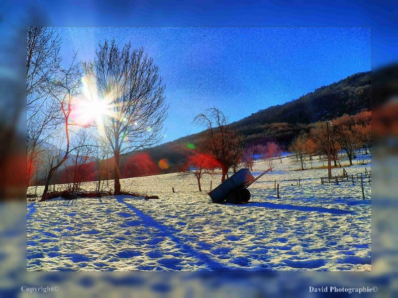 1__village__david__0112__l 'hiver et ses couleurs