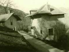 photo N&B école du Mollaret Saint Etienne de Cuines