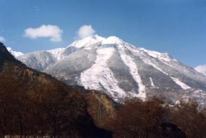 photo avalanche 1981 Saint Etienne de Cuines