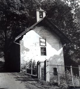 photo N&B chapelle du Mollaret Saint Etienne de Cuines