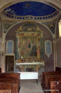 photo chapelle du Mollaret Saint Etienne de Cuines