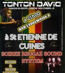Soirée Reggae Sound System