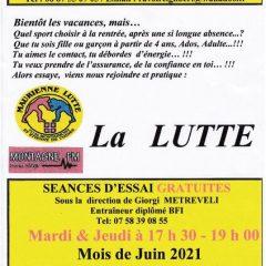 Maurienne Lutte : séances d'initiation