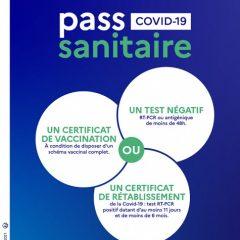 Extension du pass sanitaire depuis le 21 juillet 2021